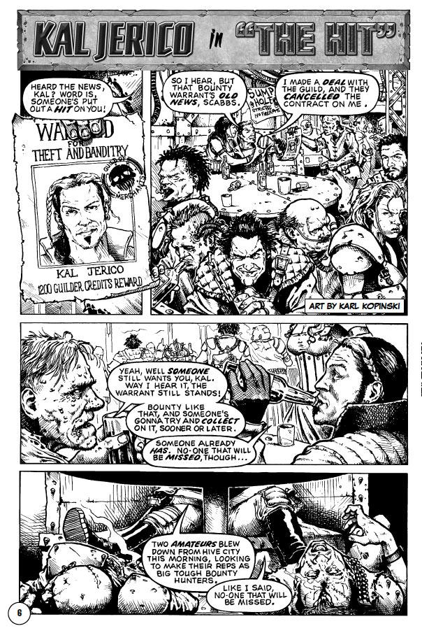 [BD] Kal Jerico - Underhive bounty hunter, par Gordon Rennie Bigc1