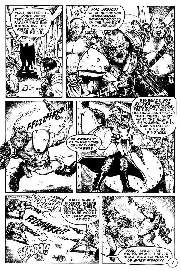 [BD] Kal Jerico - Underhive bounty hunter, par Gordon Rennie Bigc2