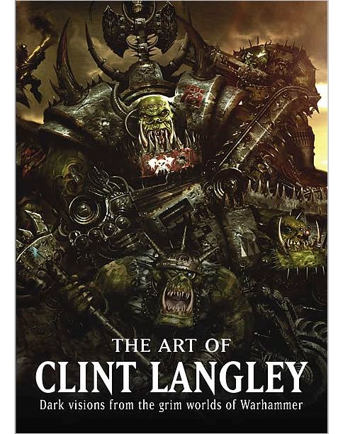 Les Artbooks sortis chez BLack Library Art-Clint-Langley