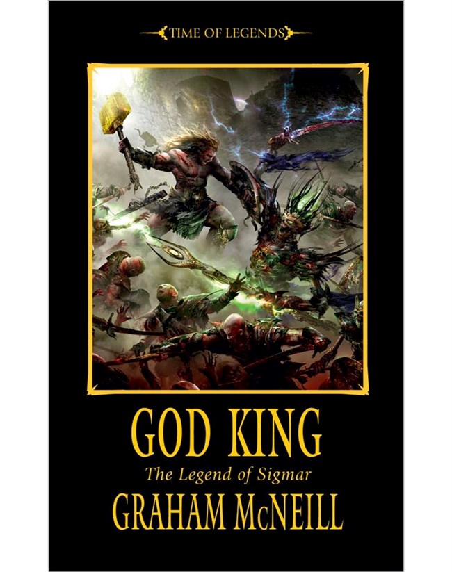 Le Roi Dieu (La Légende de Sigmar T3) de Graham McNeill God-King