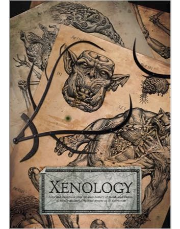 Les Artbooks sortis chez BLack Library Xenology