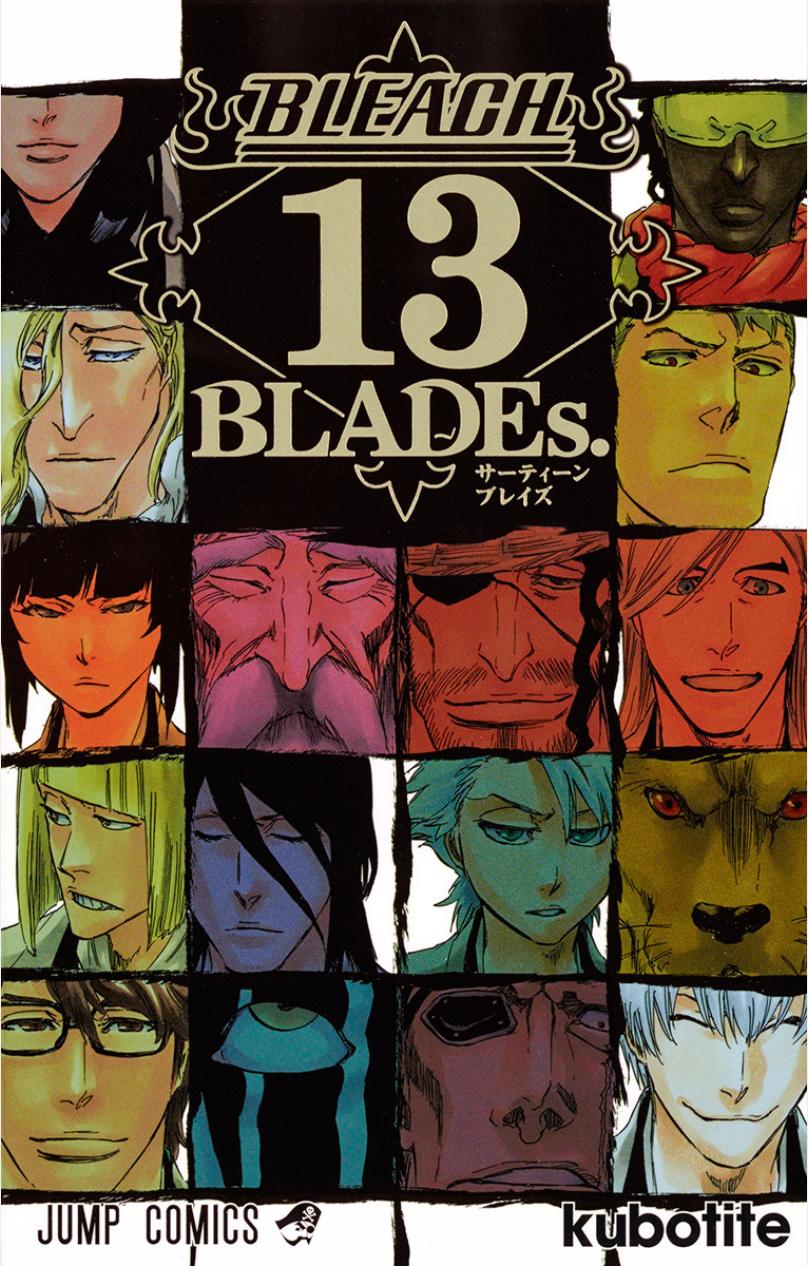 Vos achats d'otaku et vos achats ... d'otaku ! - Page 5 Bleach-13-BLADEs-Cover-HQ
