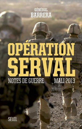 « Opération Serval, notes de guerre » Barrera