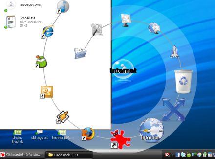 زين حاسوبك بهذا البرنامج الرائعCircle_Dock_Style Circledock