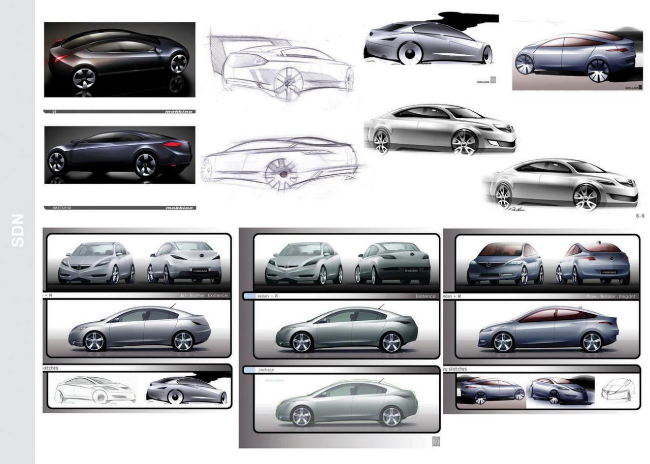 [Présentation] Le design par Mazda - Page 2 Mazda3_protos_00