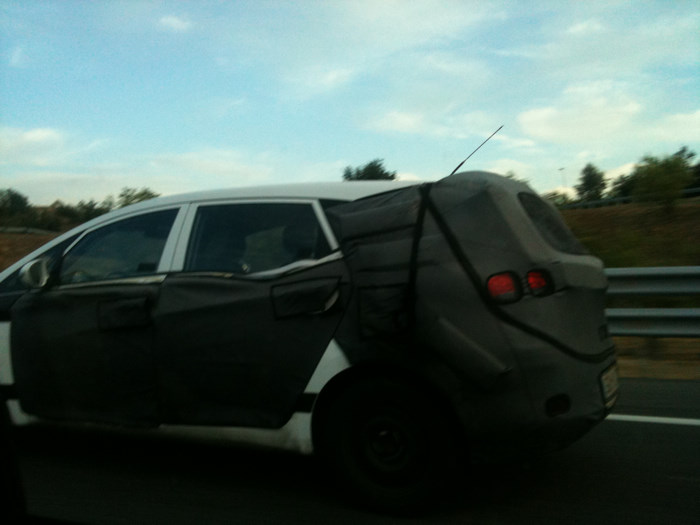 Fotos espía: Hyundai HED-5 (iMode) de paso por ¡Tarragona! Hed5espian02