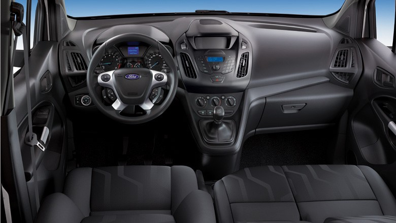 2013 - [Ford] Transit (Connect & MaxiVan) - Page 3 Fordtransitconnecttrendinterior