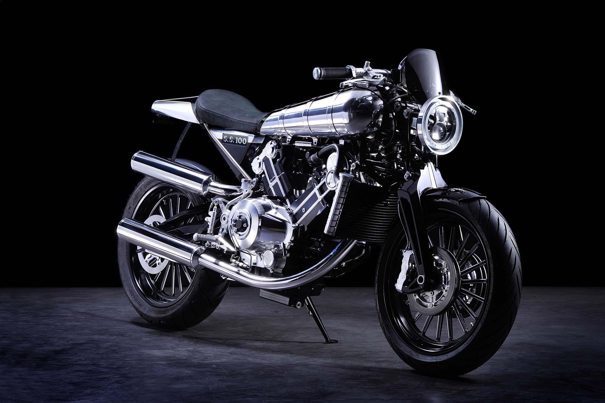 Bye Bike One: Vuelve el ciclomotor automático Brough-superior-ss100-studio-05