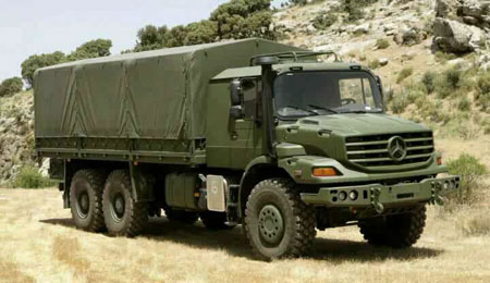 شراكه جزائرية إماراتية ألمانية لصناعة سيارات عسكرية في الجزائر Mercedes_benz_zetros_450_opt