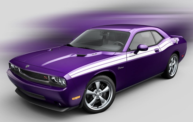 mopar going for gold twice with color option 2010-challenger-plum-crazy