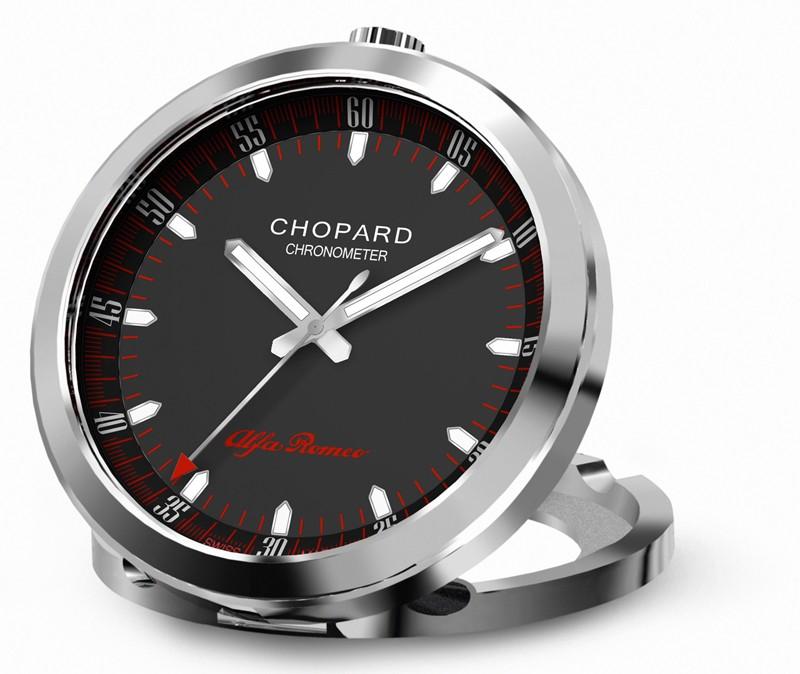 Chopard et Alfa Romeo s'unissent pour leur anniversaire Alfa-romeo-travel-alarm-clock