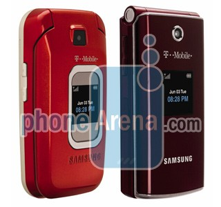 حدث موديلات  Samsung-t339-t229-t-mobile