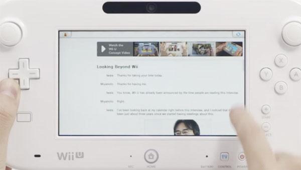 Wii U foi apresentada  24