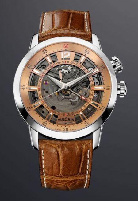 La montre de Barak Obama Vulcain-anniversary-heart-steel-watch