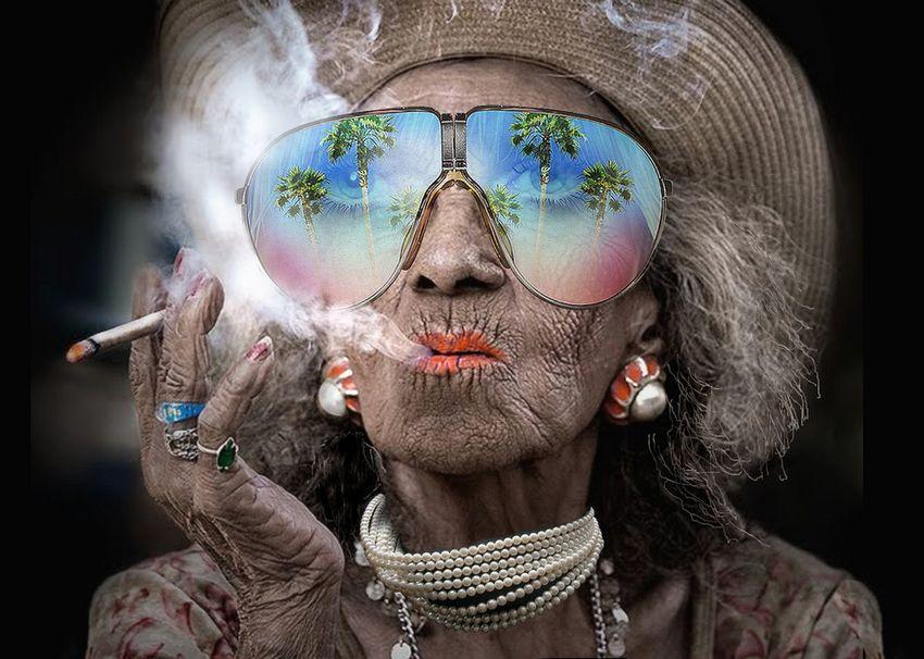 Humore montazhi dhe foto tjera humoristike - Faqe 2 Abuela-fashion