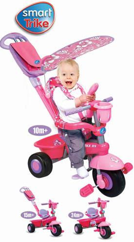Dominatrice a Progetto Triciclo_smart_trike_deluxe_rosa