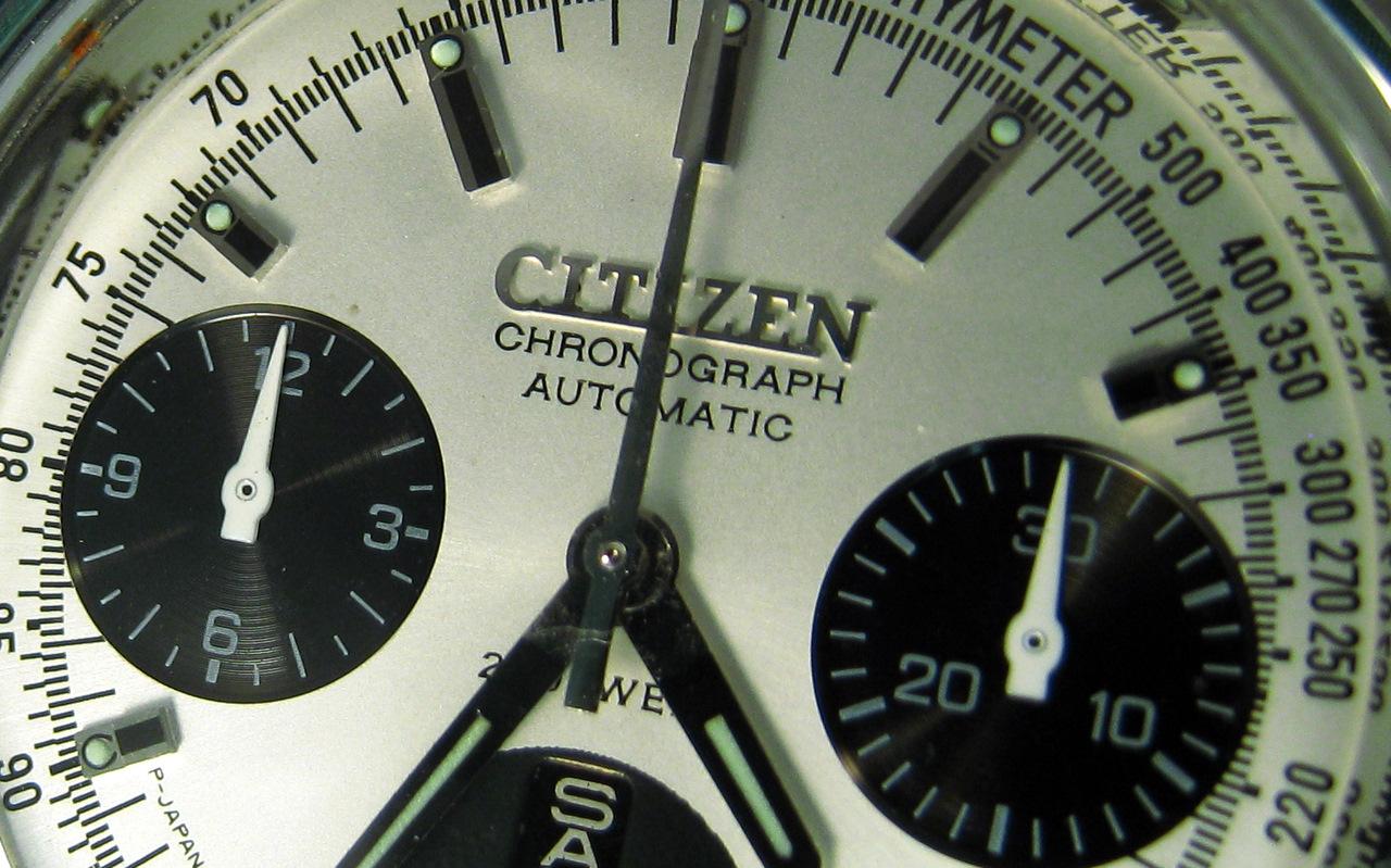 citizen - Mon chrono Citizen 8110 flyback IMG_9818
