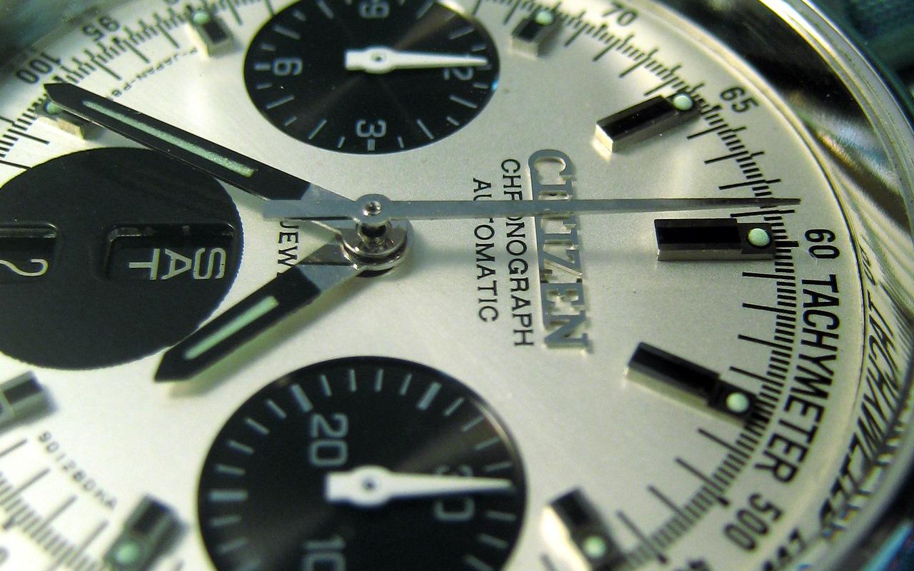 Mon chrono Citizen 8110 flyback IMG_9819