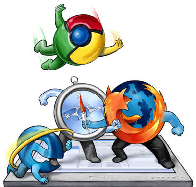 whats happening to the portal? Chromevsfirefox