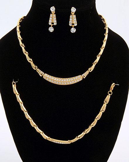 اطقام مجوهرات ذهبية وفضية لك انت وحدك 137260
