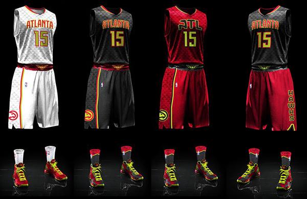 Preview 2016-2017 Atlanta-Hawks-Uniforms-head-to-toe