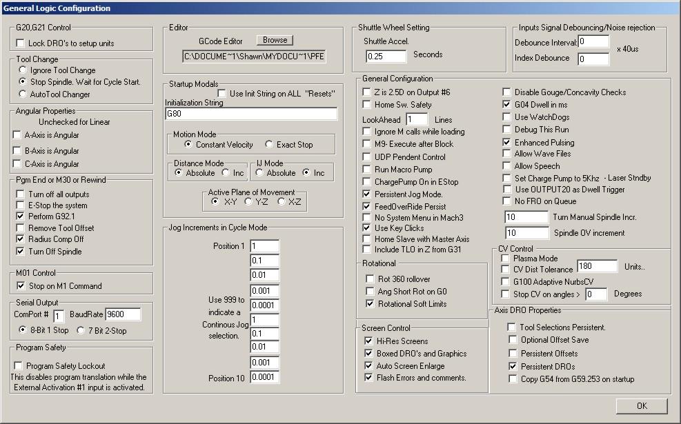 Problème avec ma cnc - elle s'arrête régulièrement après +/- 20 min de fonctionnement - Page 2 Config