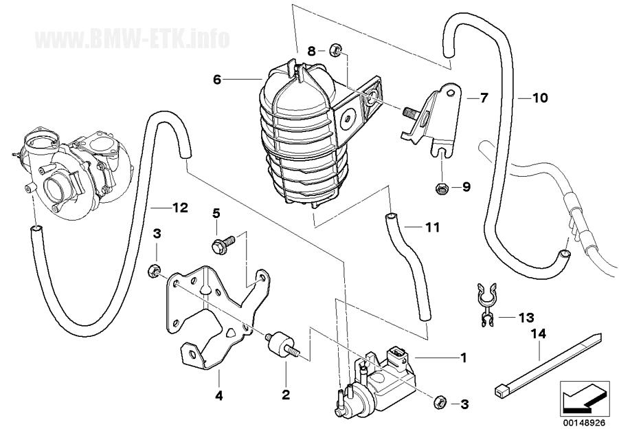 [ BMW e46 330 cd M57N an 2003 ] problème sifflement turbo  Ersatzteile148926