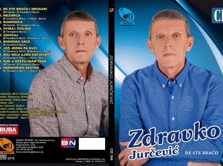 Zdravko Jurcevic 2015 - Dje ste braco i drugari ZDRAVKO-OMOT1-450x335