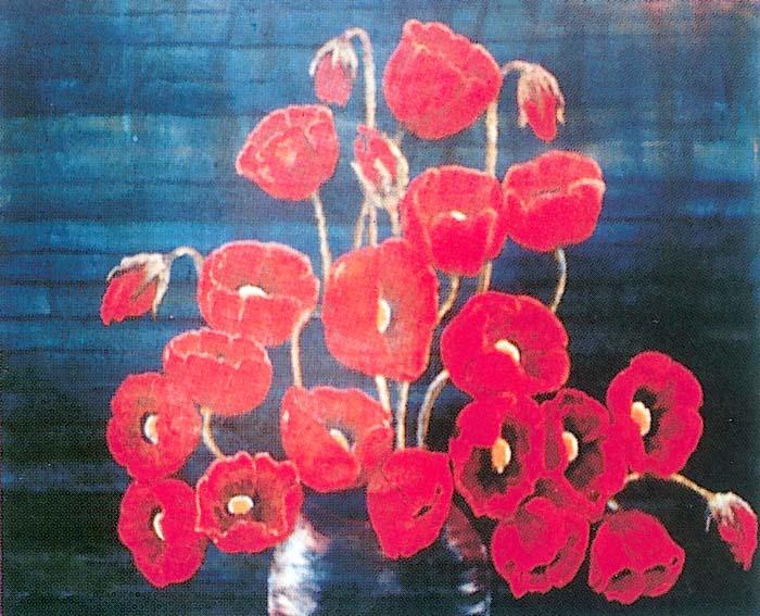 Omiljena slikarska tema Makovi P25