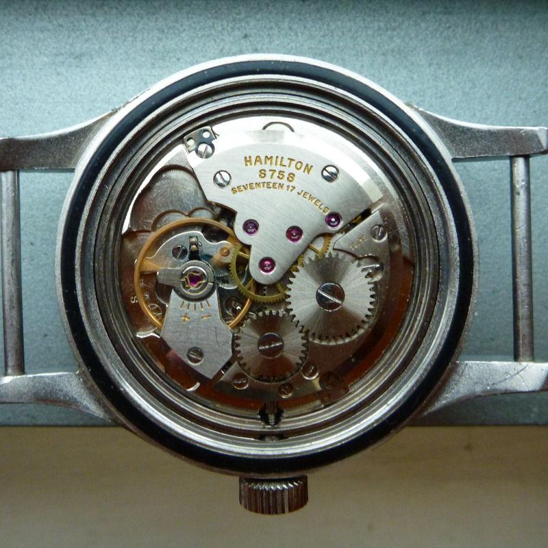 Hamilton G.S. et autres Hamilton militaires/ focus sur les navigational watches Hamilton_S75S