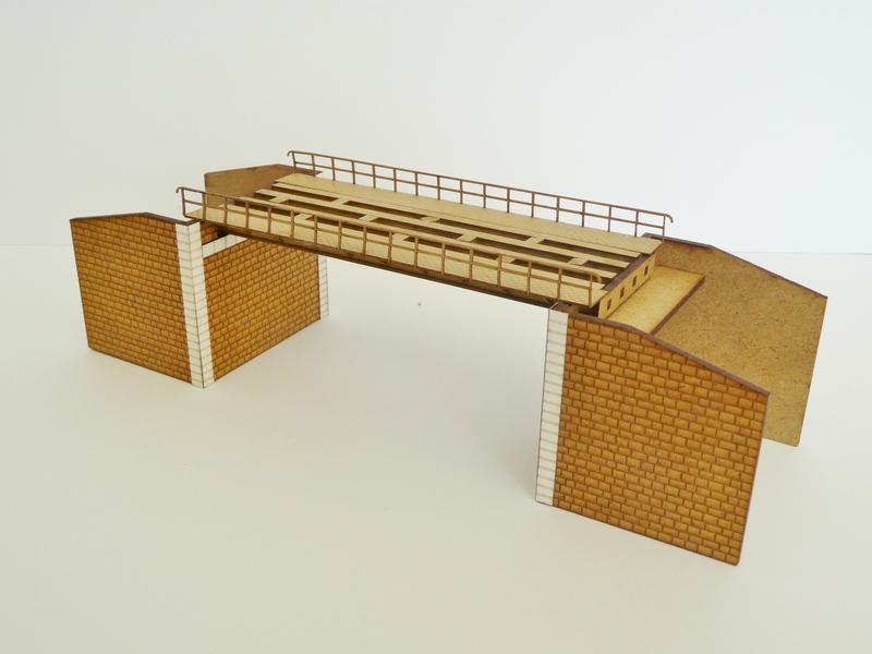 Pont métallique 1 voie Pont_ho_pont_1_87_pont_echelle_ho_pont_metallique_pont_metallique_train_viaduc_metallique_pont_structure_eiffel_pont_de_train_HO_pont_faller_pont_bois_modelisme_9