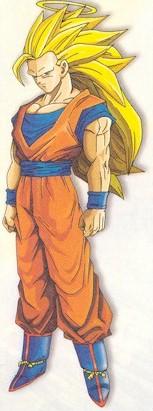 Las transformaciones de Goku Niveles8