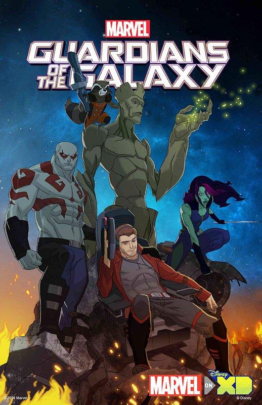 Cine y series de animacion - Página 2 Guardians-of-the-galaxy-gets-animated-in-disney-xd-series