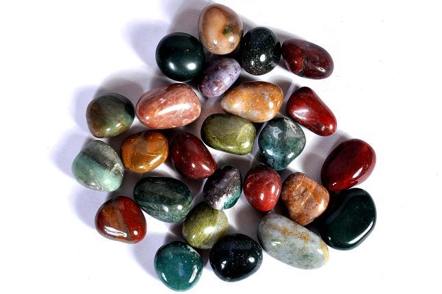 ما هو العقيق  Fancy_Agate_Tumbled_Stones