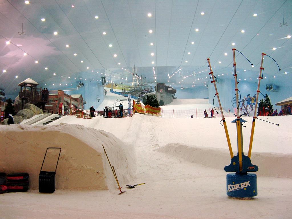 un endroit à découvrir Martin 21 Août trouvé par Martine Ski_indoor_dubai
