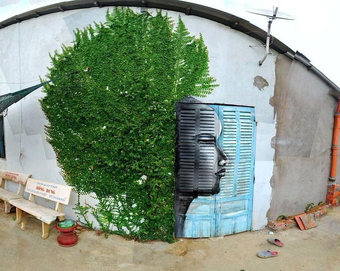 Street art Street-art-interacts-with-nature-15