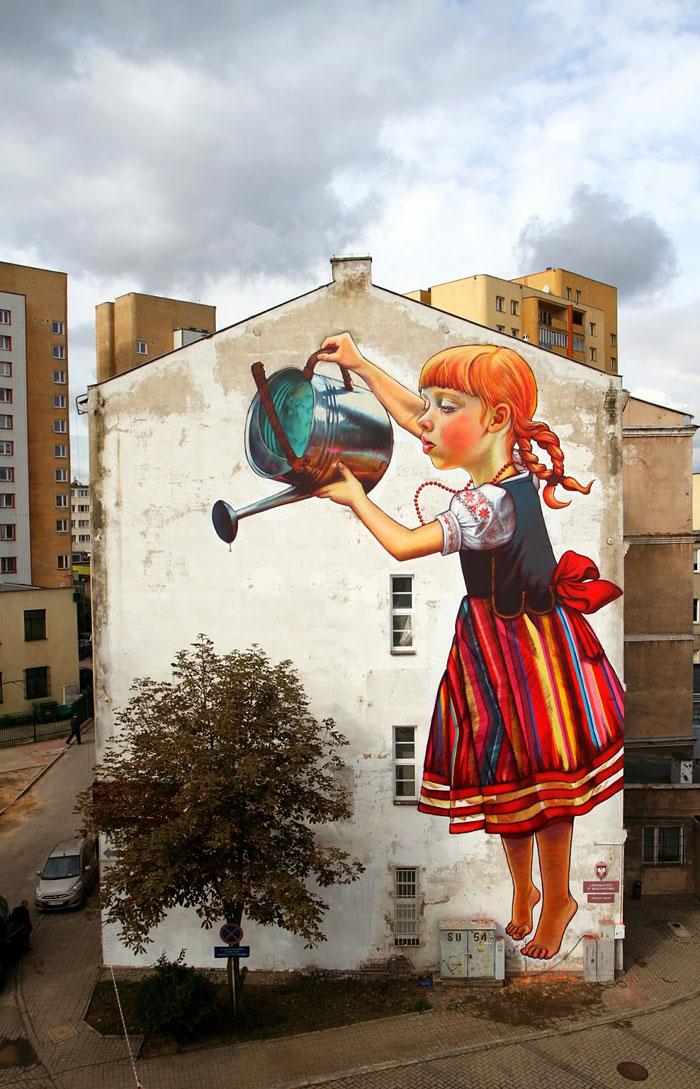 Street art Street-art-interacts-with-nature-2