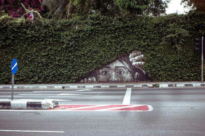 Street art Street-art-interacts-with-nature-28