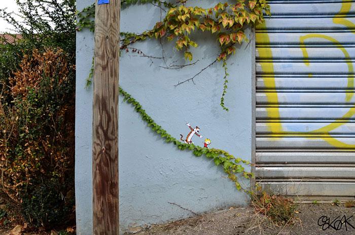 Street art Street-art-interacts-with-nature-8