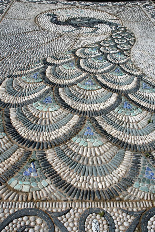 Những con đường lát sỏi đẹp Garden-pebble-stone-paths-1