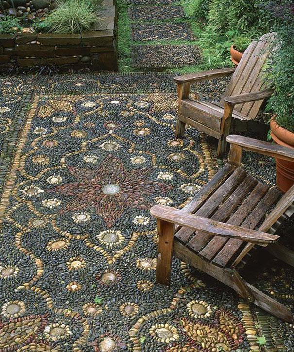 Những con đường lát sỏi đẹp Garden-pebble-stone-paths-9