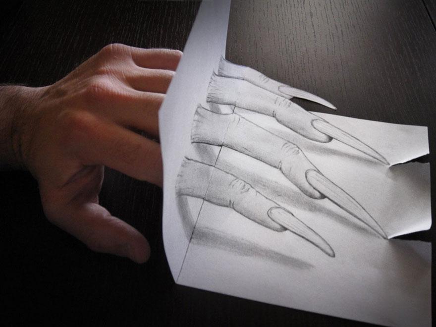 رسومات لا تصدق.. 33 رسمة 3d قمة الجمال والروعة مرسومة بقلم الرصاص..  3d-pencil-drawings-20