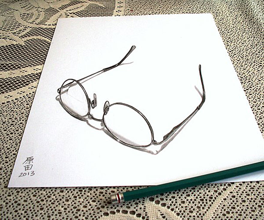 رسومات لا تصدق.. 33 رسمة 3d قمة الجمال والروعة مرسومة بقلم الرصاص..  3d-pencil-drawings-8