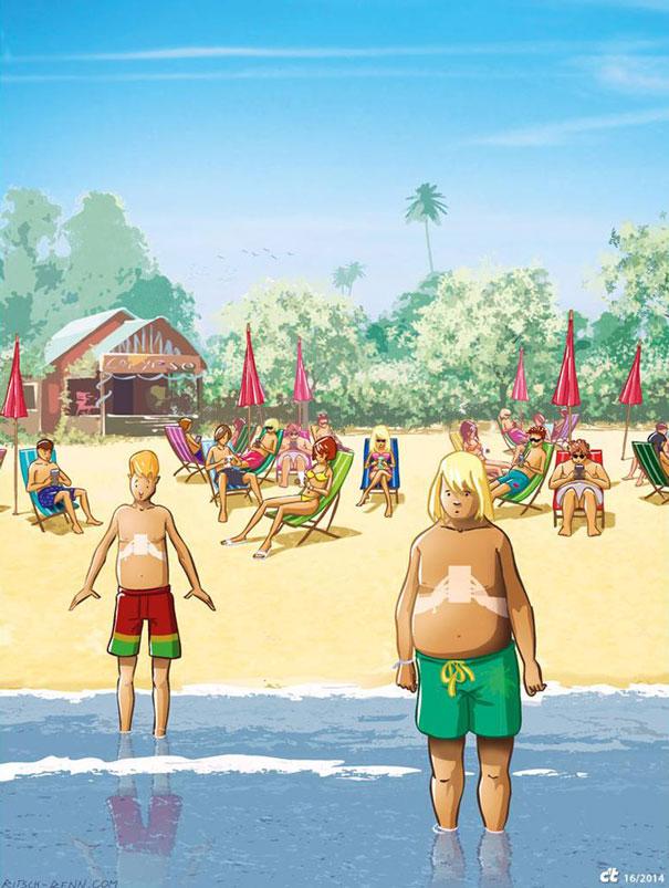 ¡¡¡Ilustrando la realidad!!! Ilustraciones-satiricas-adiccion-tecnologia-13