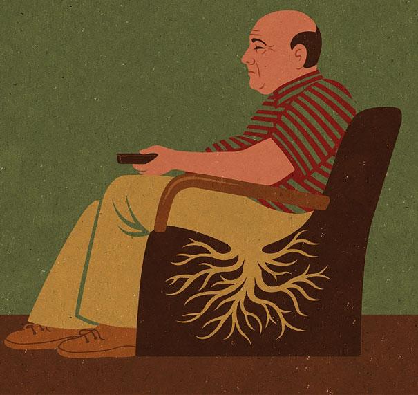 >>>Ilustraciones Satíricas..>>> Ilustraciones-satiricas-adiccion-tecnologia-17