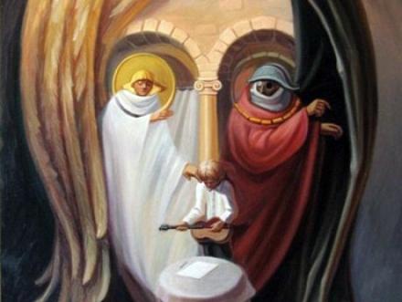 Iluzione optike! Lennon-piktura