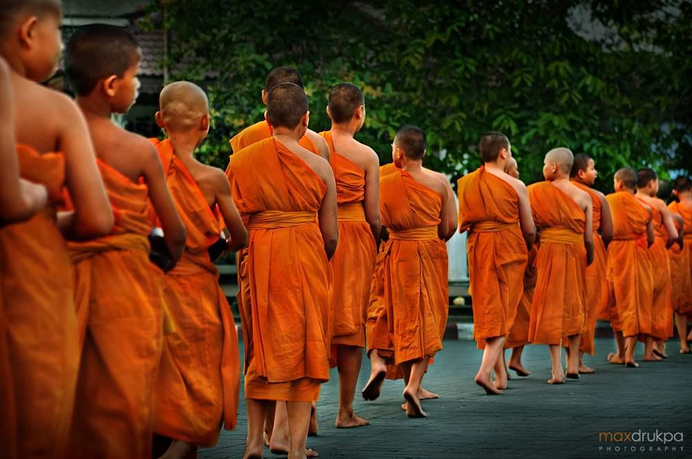 homme et viande - Page 3 Moines-boudhistes-monk-durant-une-ceremonie