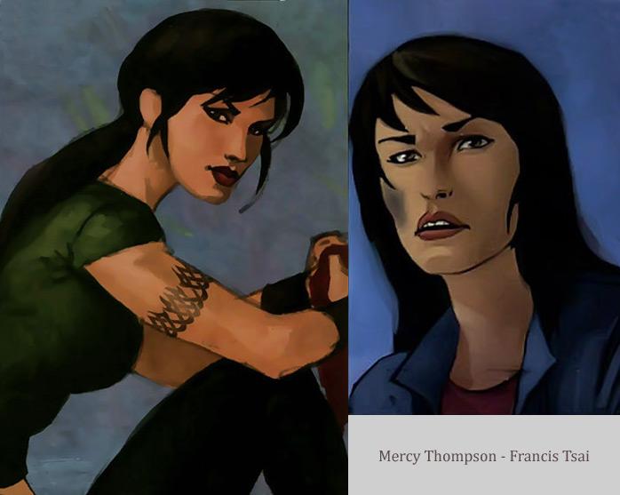Patricia Briggs : Les comic books - Page 2 Mercyfrancis