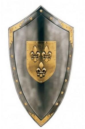 La Chevalerie Médiévale ESCUDO-CON-FLOR-DE-LIS-297x450
