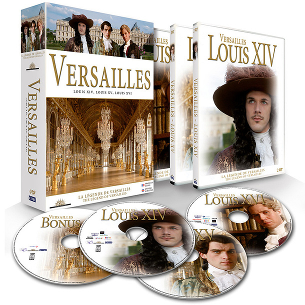 Le Versailles de Thierry Binisti (coffret 4 DVD) 14118_xl